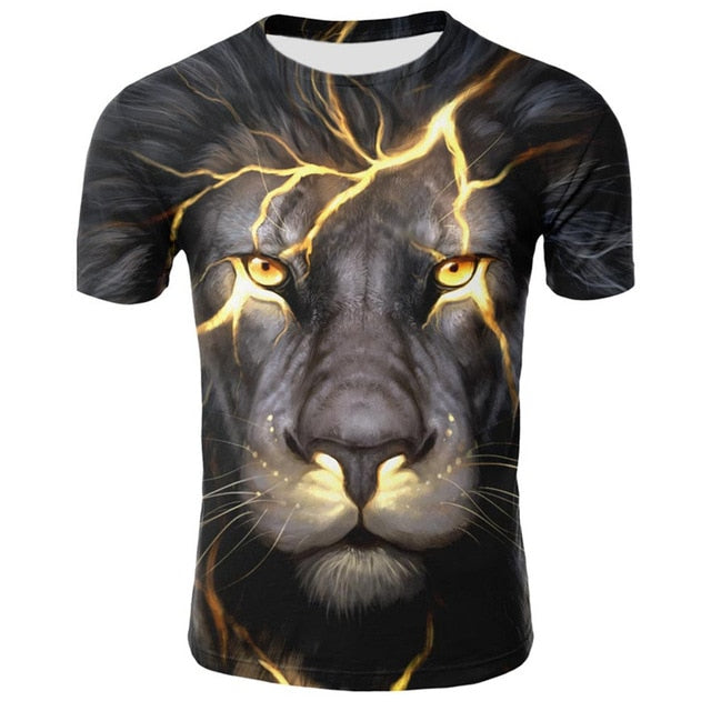T-Shirt Lion Electric