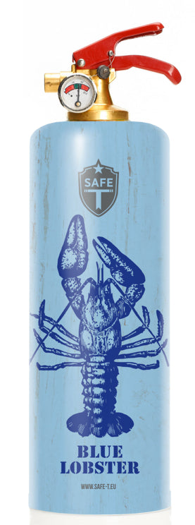 Extincteur Design BLUE LOBSTER