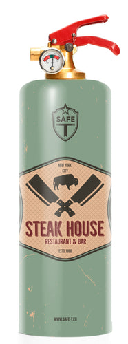 Extincteur Design STEAK HOUSE