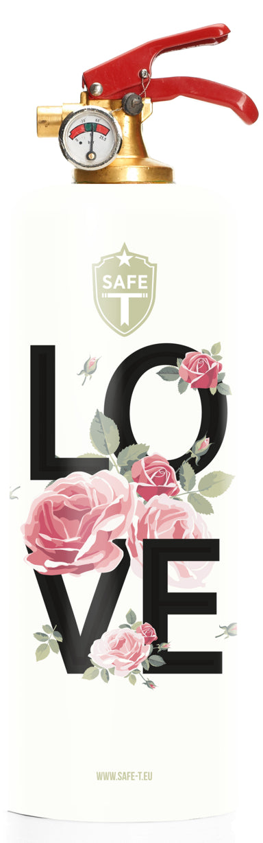 Extincteur Design FLOWER LOVE