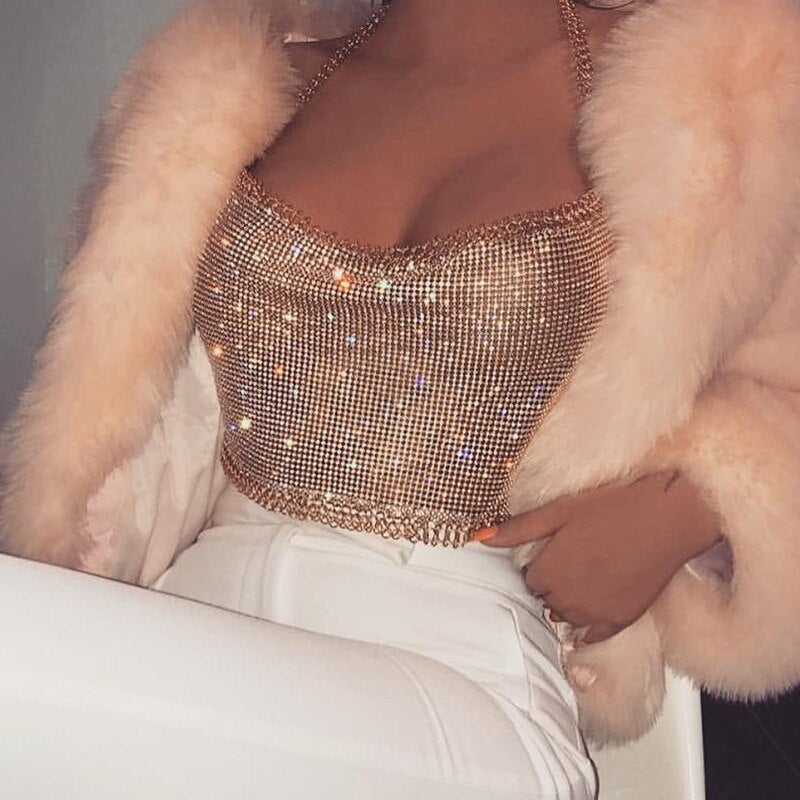 Cropped 2 em 1 Luxury Diamond