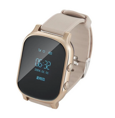 WMKGW700 OLED GPS WIFI Smart Watch Men Smart Clock Voice Monitoring Elderly Wearable Devices