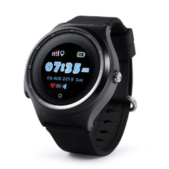 Smart Kids GPS Watch WiFi Smart Clock Waterproof Child GPS Positioning New Message Alarm Sound Guardian SOS Help Tracker Support Vibrate Mode