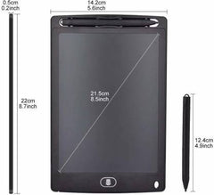FUNPLUS LED Writing Screen Tablet Drawing Board for Kids/Adults, 8.5 Inch(Black)  (Black)