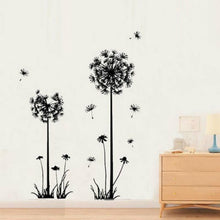 Load image into Gallery viewer, Stunning Black Dandelion Wall Stickers For The Living Room, Bedroom, Office