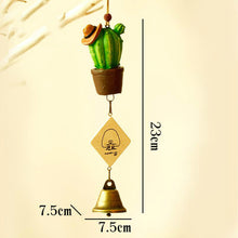 Load image into Gallery viewer, Creative Wind Chime Ornaments Succulent Cactus Ornaments Children's Day Gifts Home Furniture Decorations