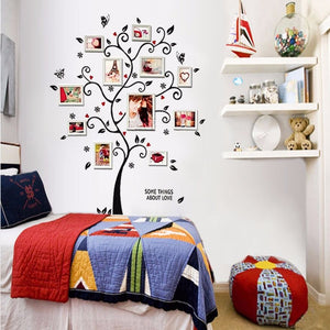 "Wall Decal ""Photo Tree"" 120cm wall sticker nursery baby children's room decoration, Removable Photo Tree, Kids Wall Stickers, Art Home Decor"