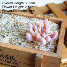Load image into Gallery viewer, Mini Modern Succulent Faux Plants for Home Decor Indoor and outdoors