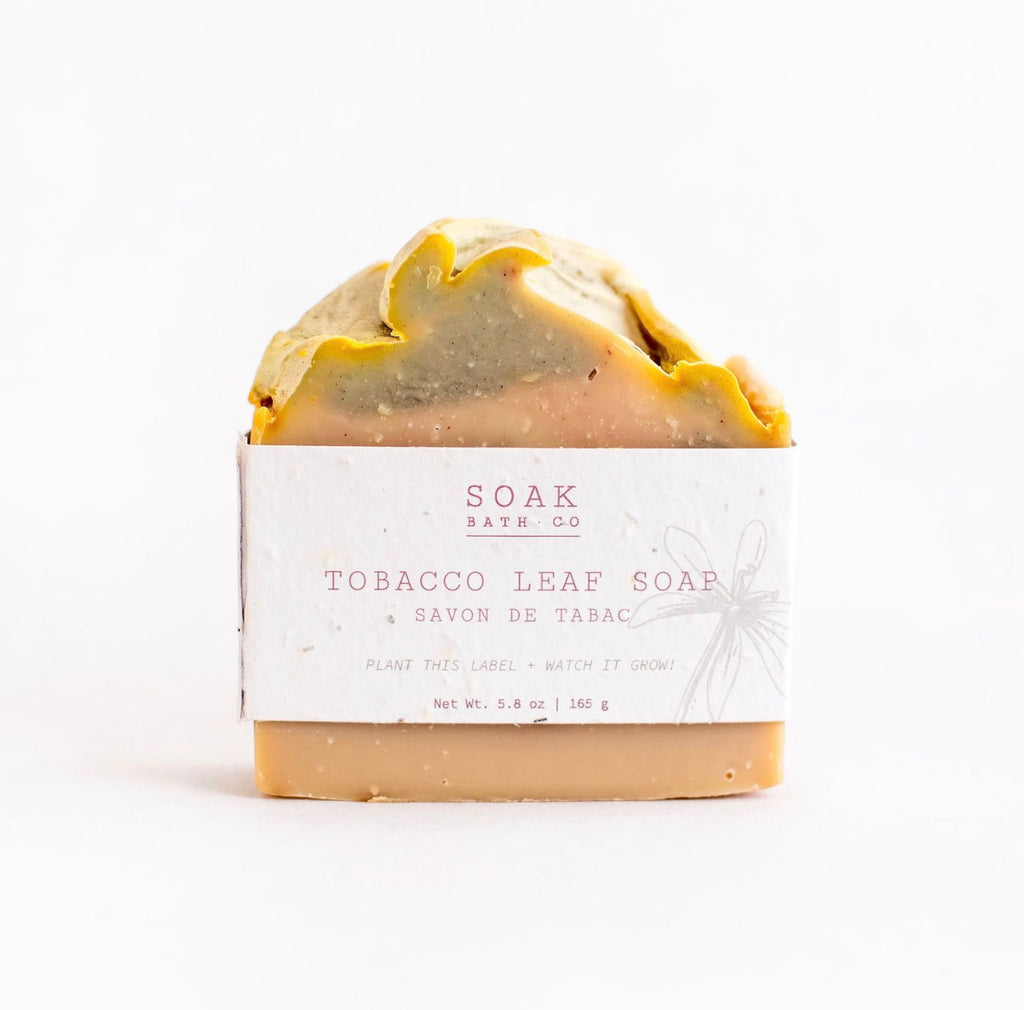 Soap Bar Tobacco Leaf