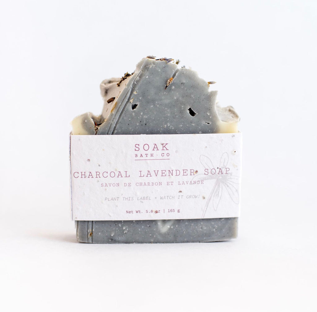 Soap Bar Charcoal Lavender