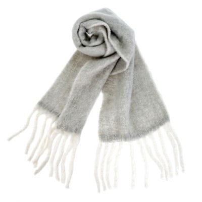 Fringes Wool Scarf