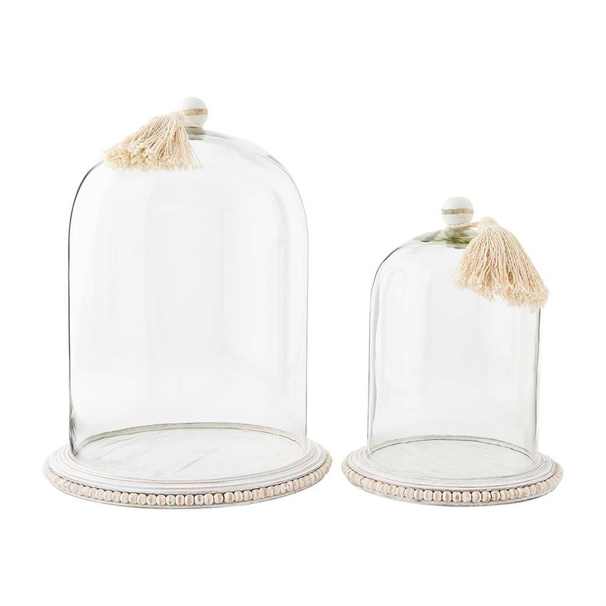 Cloche with Beaded Base. ** In store item only **