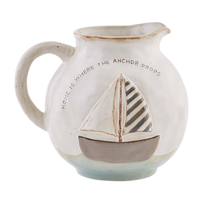 Sea Sailboat Pitcher