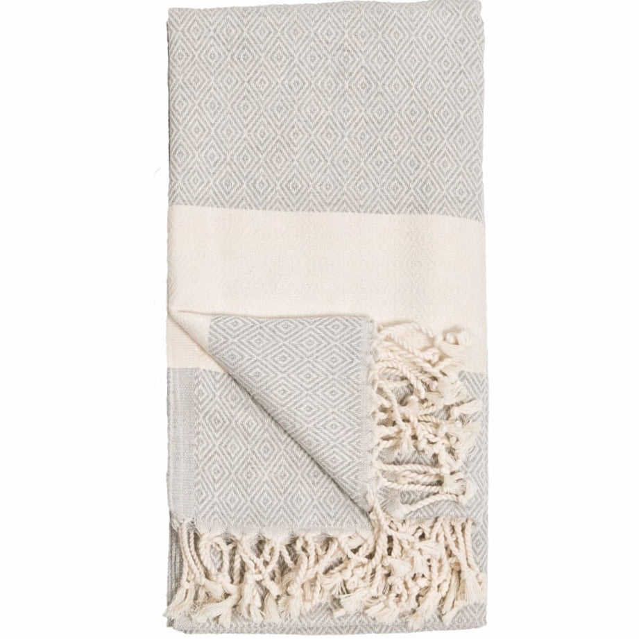 Turkish Towel/Throw, Mist