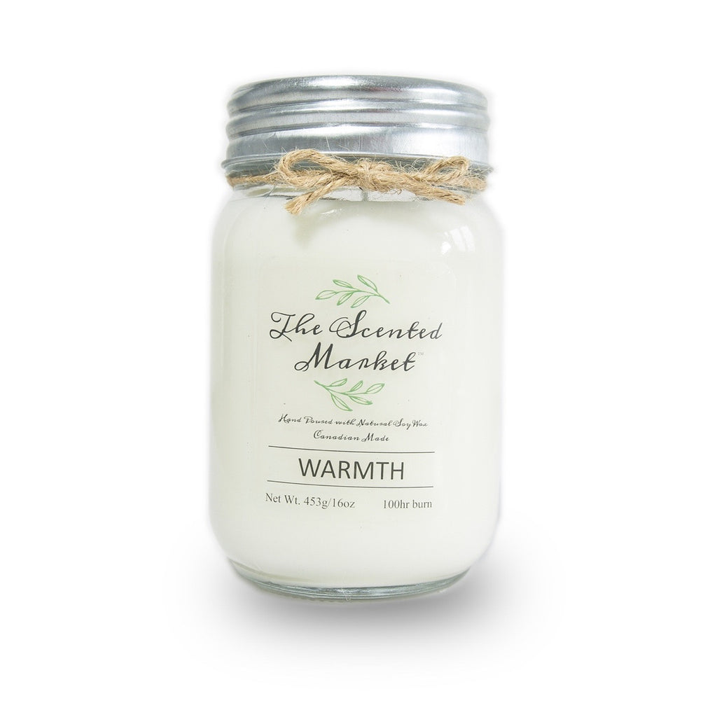 Warmth 16oz Scented Soy Candle