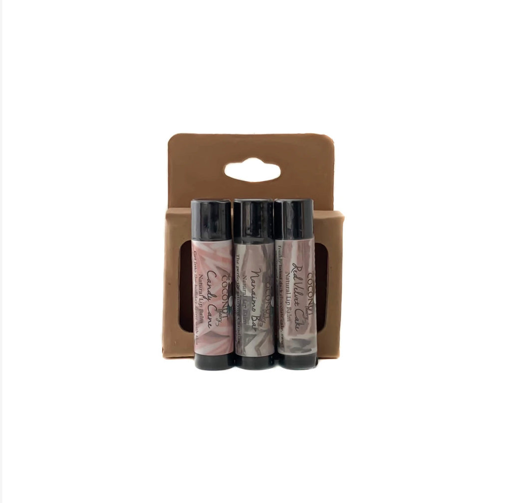 Sweet Treats Lip Balm Set