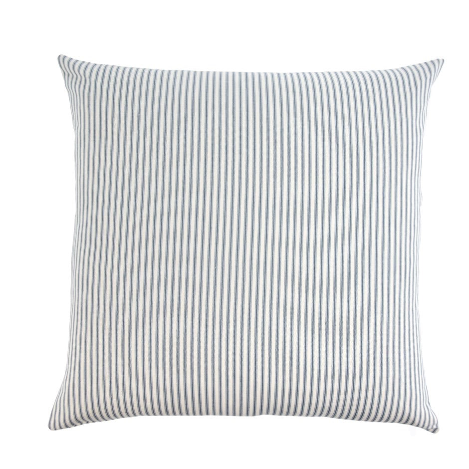 Ticking Stripe Pillow, navy