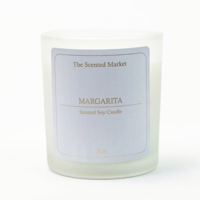 Margarita 6oz Scented Soy Candle