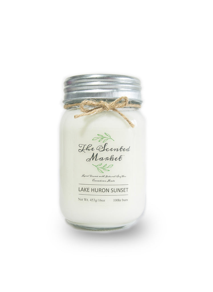 Lake Huron Sunset 16oz Scented Soy Candle
