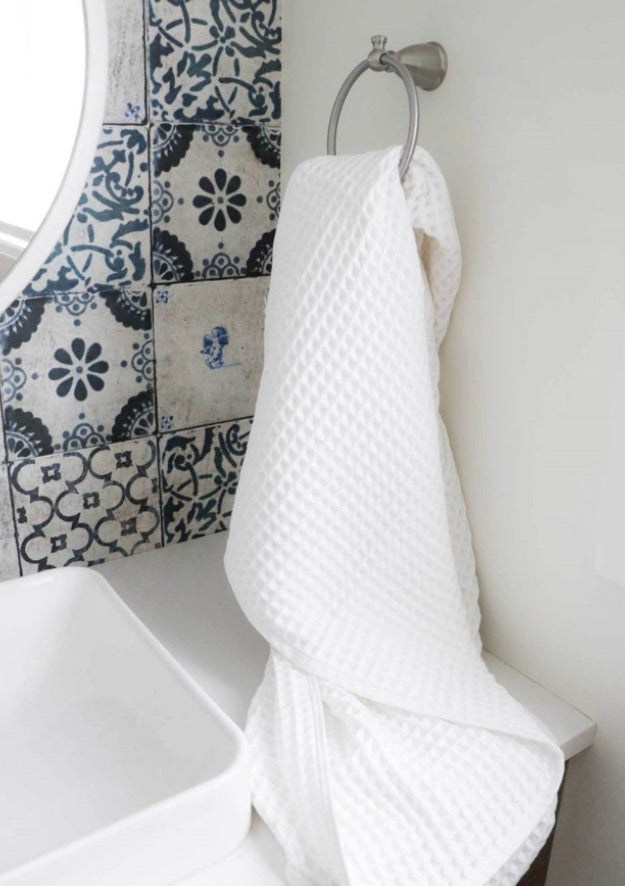 Marine hand towel, pack of 2
