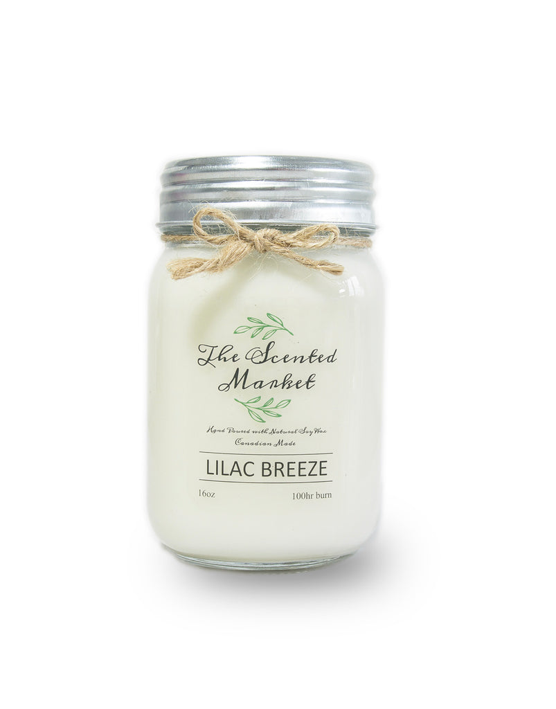 Lilac Breeze 16oz Soy Scented Candle