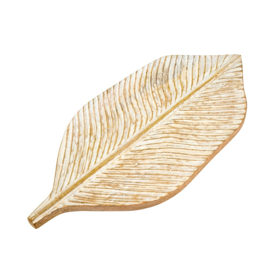 Carved Leaf Board
