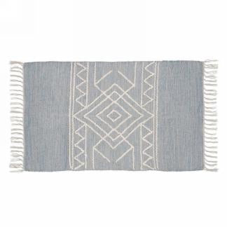 Light Blue Grey Rug