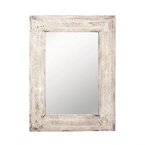 Hanging Mirror Wood Frame