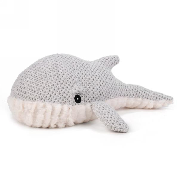 Whale Faux Fur Door Stopper