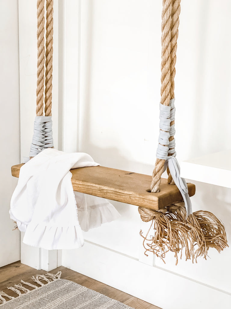 Wooden Indoor/Outdoor Swing