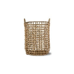 Bondi Water Hyacinth Open Basket