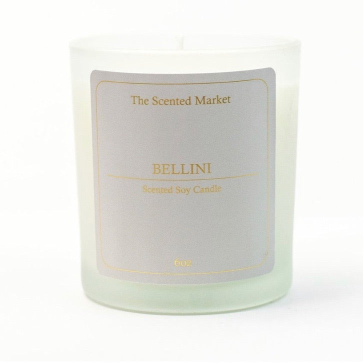 Bellini 6oz Scented Soy Candle