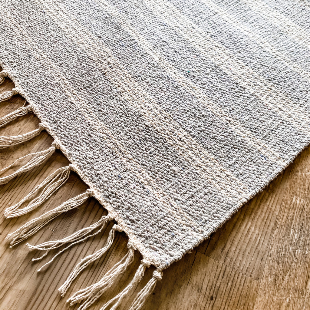 Mist Thin Striped Rug