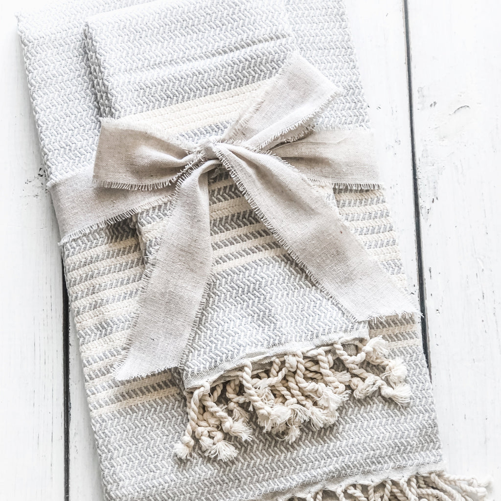 Sunday Special~ Mist Towel/Throw & Hand Towel Combo