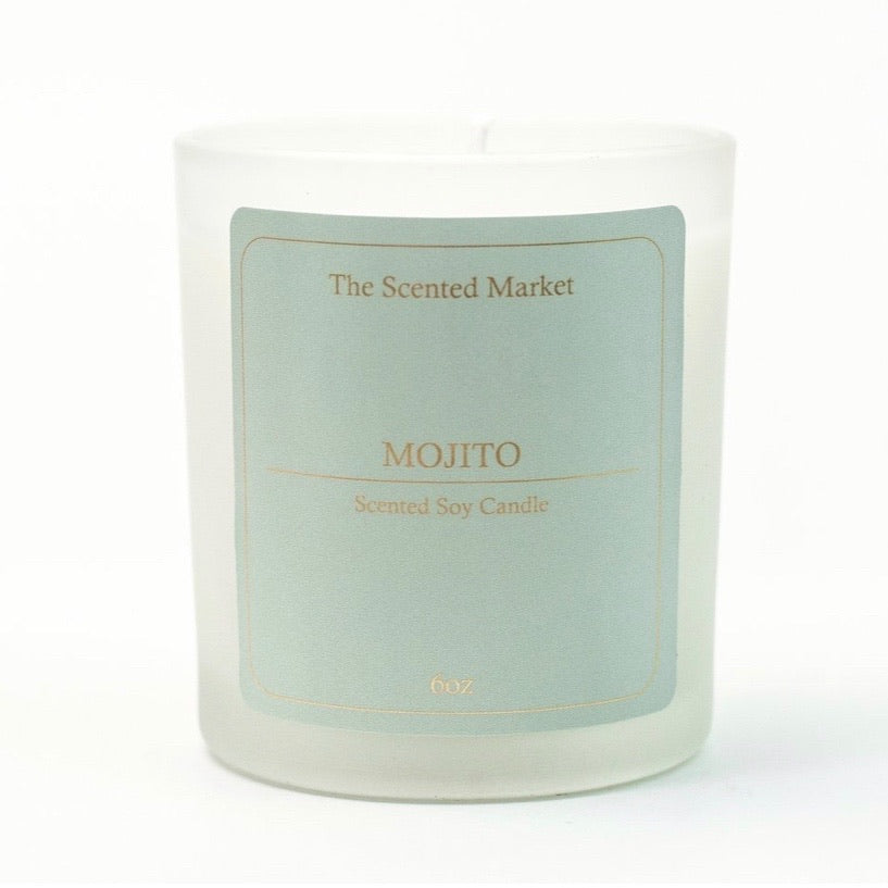 Mojito 6oz Scented Soy Candle