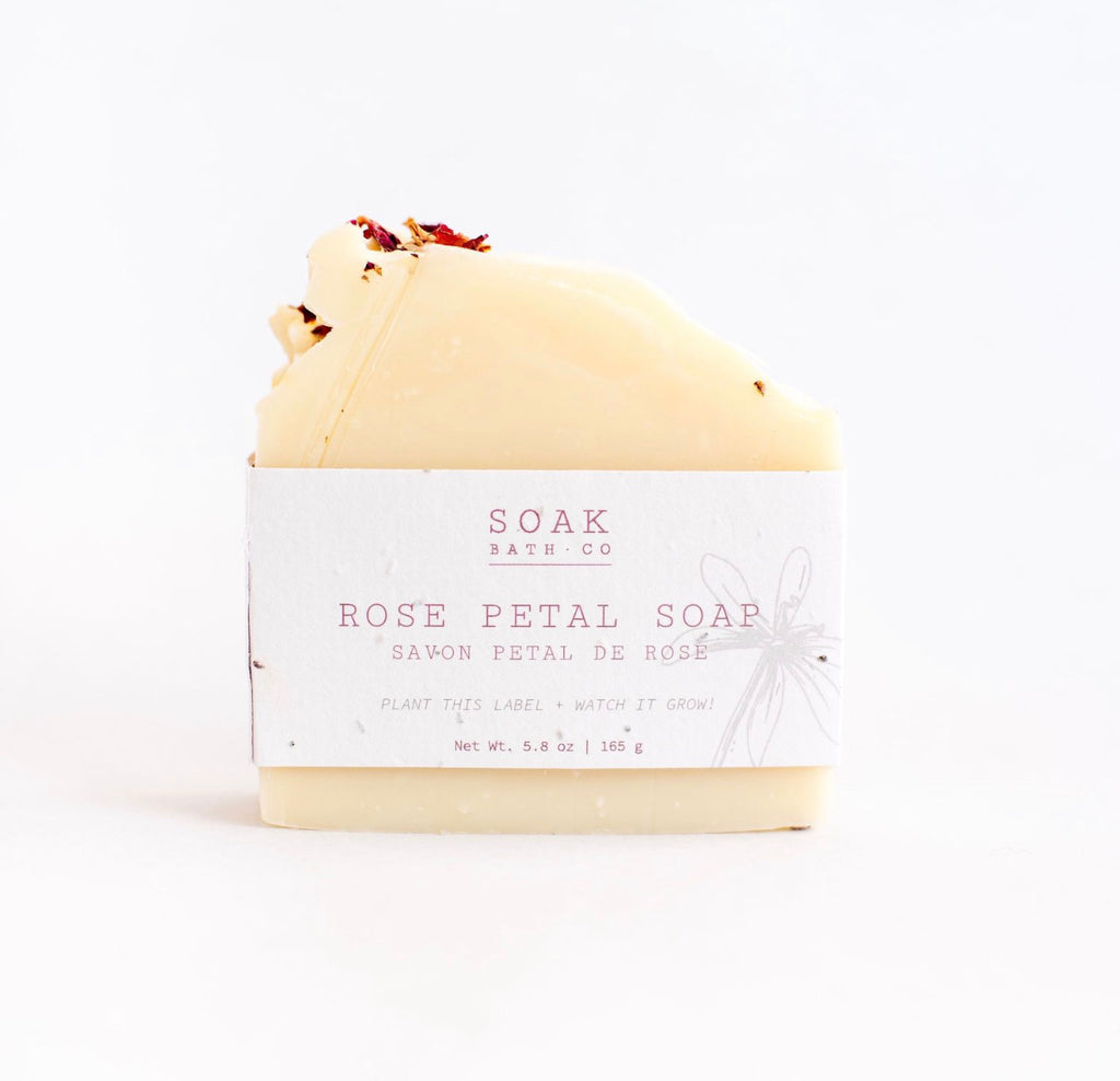Soap Bar Rose Petal