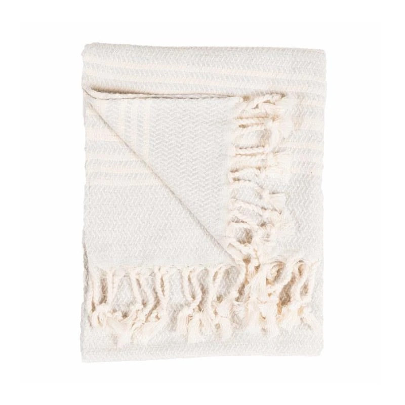 Turkish Hand Towel, Mist