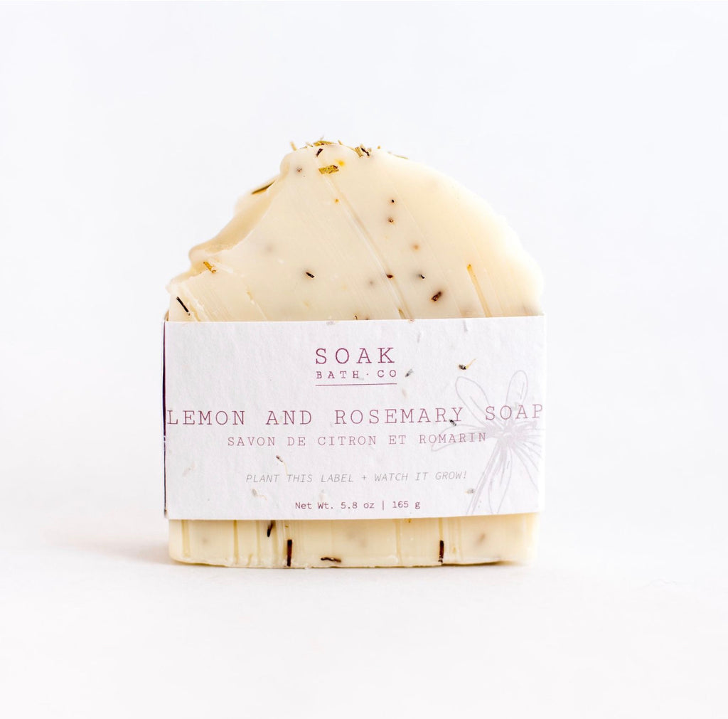 Soap Bar Lemon and Rosemary