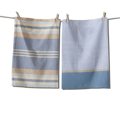 Waterside Stripe Dishtowel, set of 2