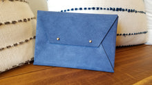 Load image into Gallery viewer, Suede Envelope Clutch