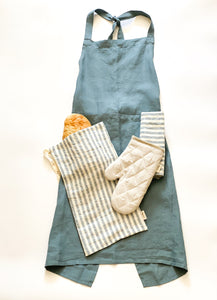 Linen Apron and Accessory Set