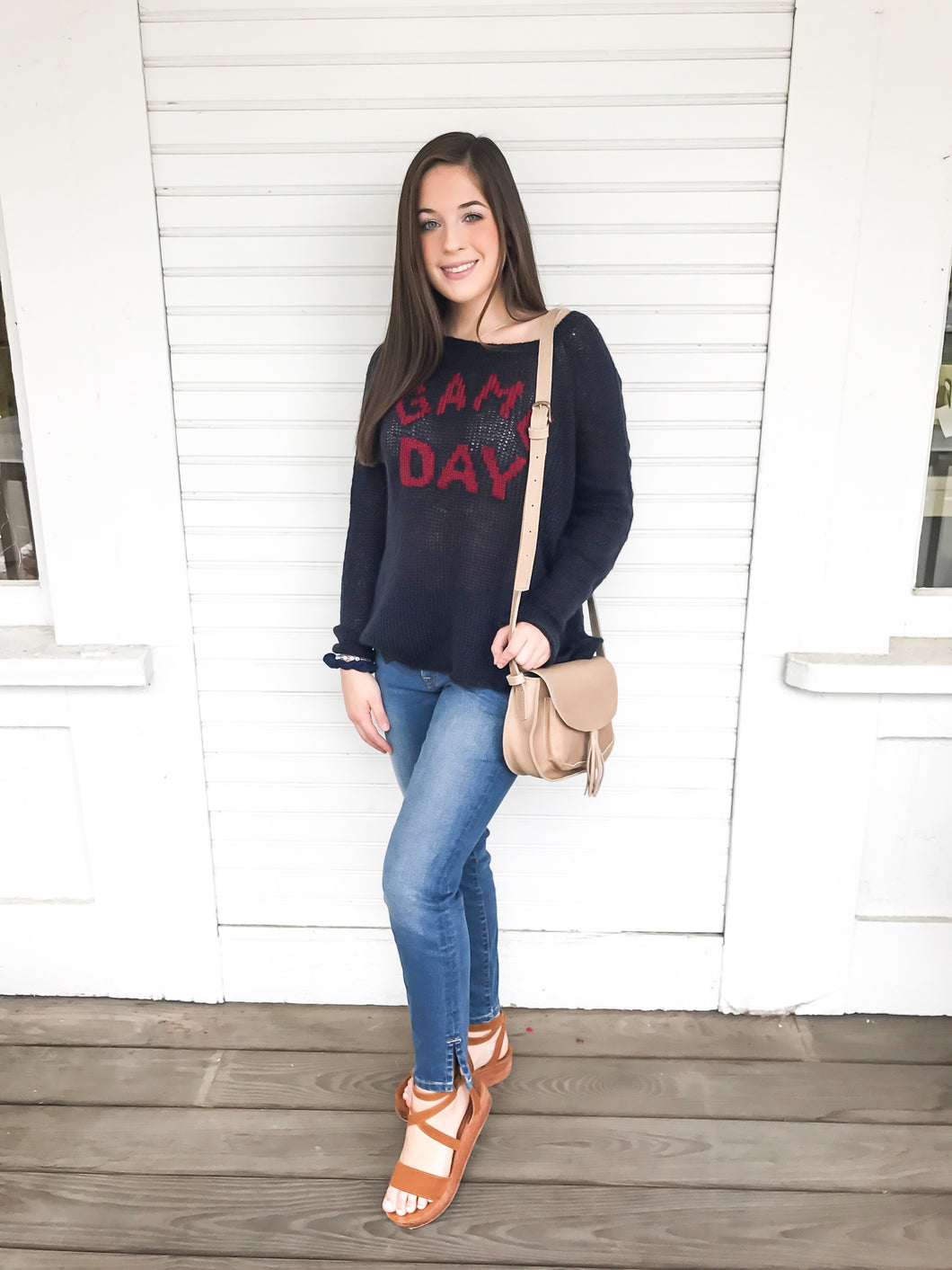 Game Day Raglan Lightweight Sweater
