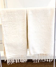 Load image into Gallery viewer, Natural Cotton Bath Towel/Throw