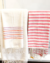Load image into Gallery viewer, Striped Cotton Hand Towel
