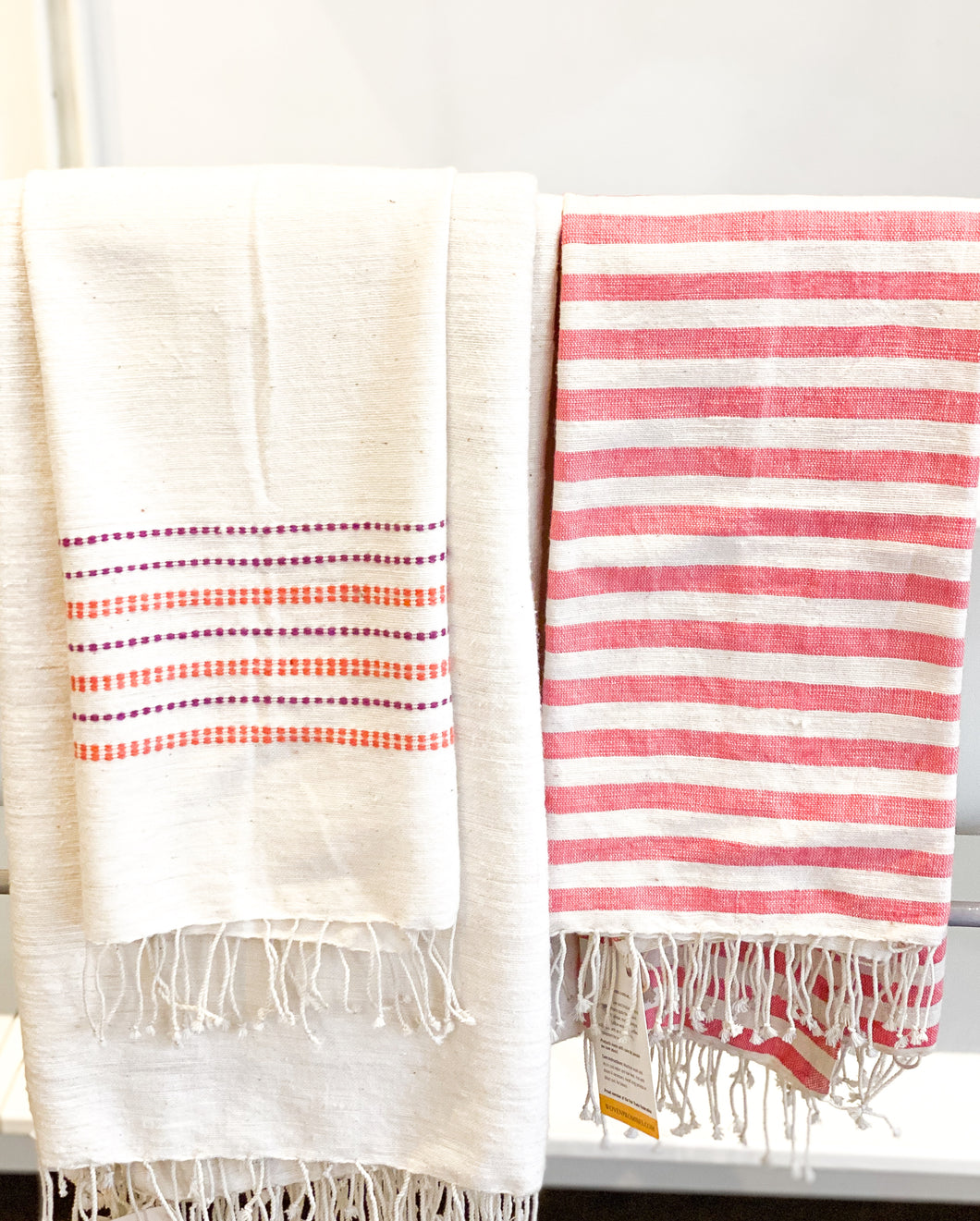 Striped Cotton Hand Towel
