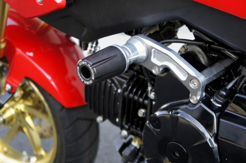 over racing engine frame sliders for honda grom