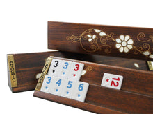 Load image into Gallery viewer, Exclusive Wooden Okey Game Set - Antochia Crafts