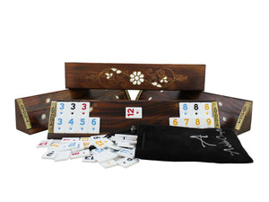 Exclusive Wooden Okey Game Set - Antochia Crafts