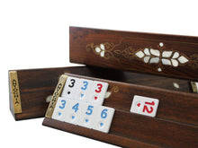 Load image into Gallery viewer, Handmade Exclusive Wooden Rummy Cube - Antochia Crafts