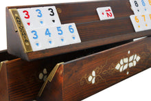 Load image into Gallery viewer, Handmade Exclusive Wooden Rummy Cube